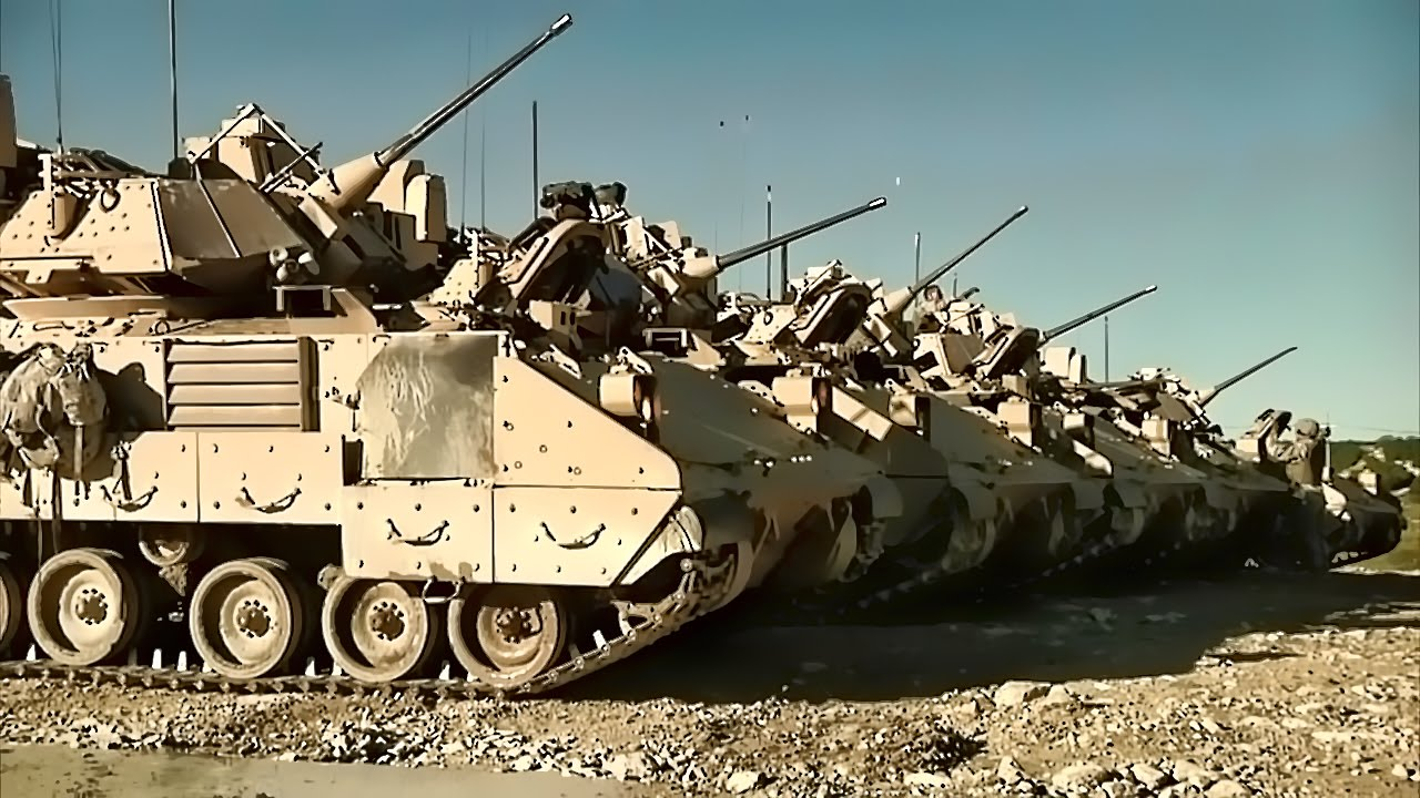 Black Jack Brigade • Bradley Fighting Vehicles & M1A2 Tanks