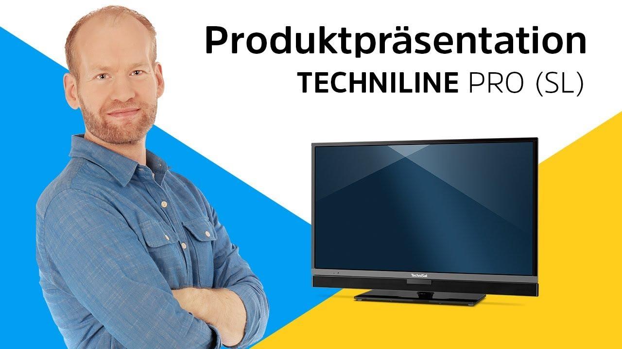 Video: TECHNILINE PRO 32 SL | Kompakter Fernseher mit integrierter Soundleiste. | TechniSat
