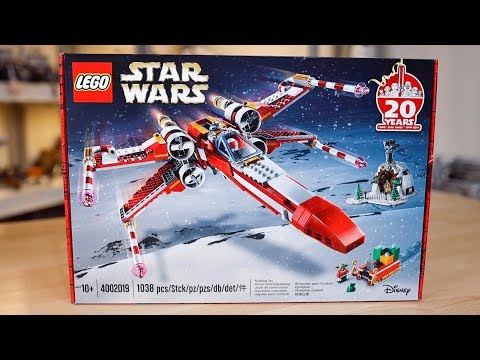 LEGO Star Wars Holiday X-Wing 2019 REVIEW