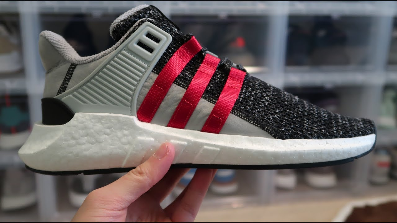 sneakers for cheap b2dc0 c8475 Overkill x Adidas EQT Support Future 'Coat of Arms' Sneaker Unboxing