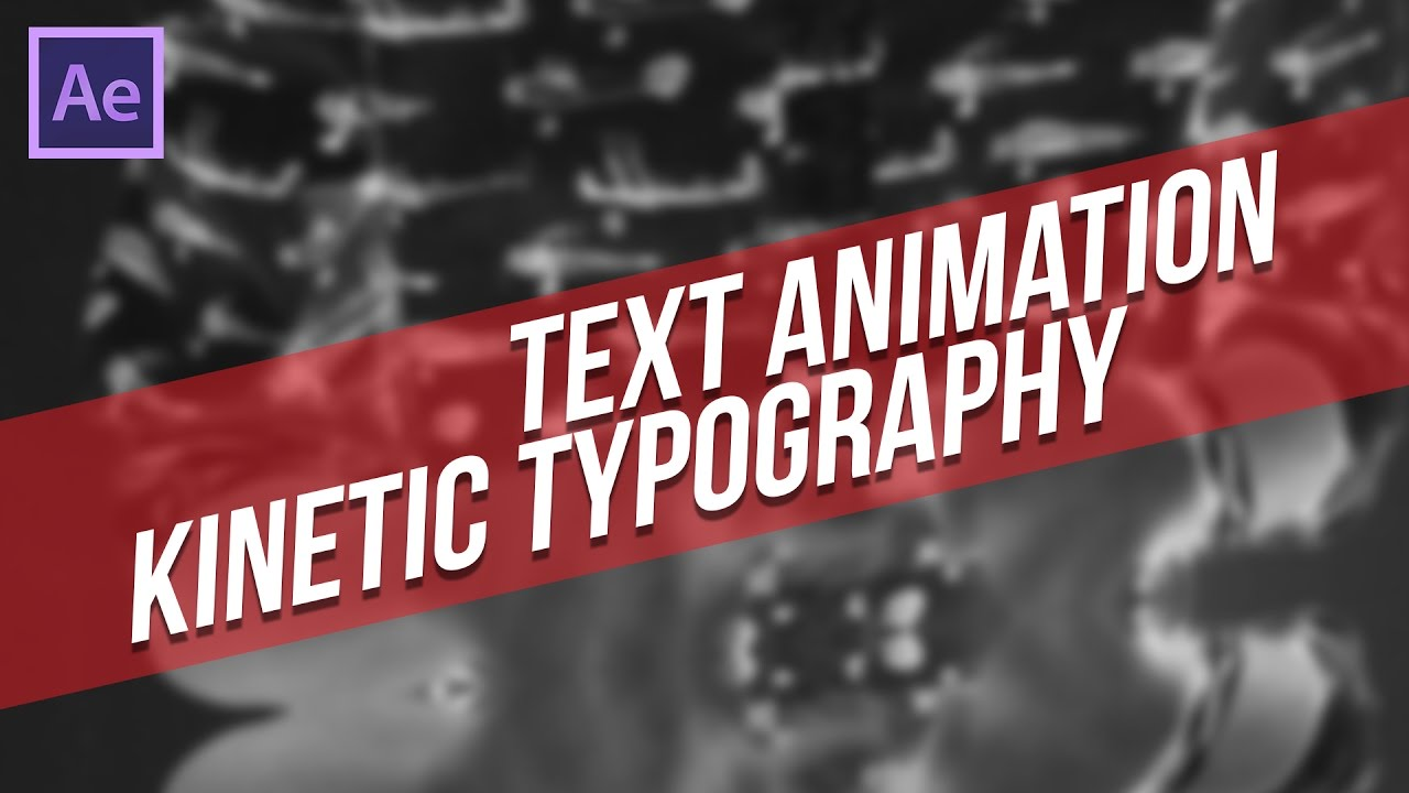 after effect tutorial menggunakan text animation tool kinetic typography bahasa indonesia