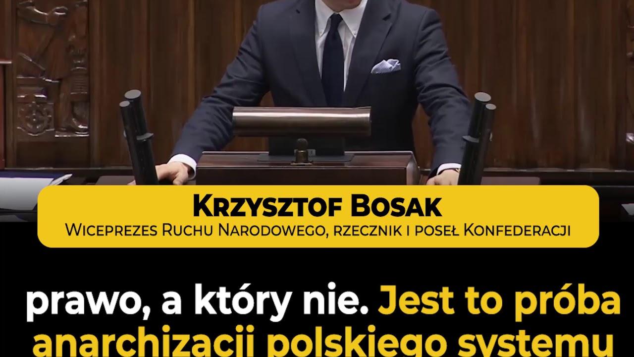 K. Bosak (Konfederacja) w obronie suwerenności Polski przed zagraniczną władzą! | Sejm (19.12.2019)