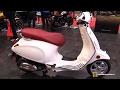 2017 Vespa Primavera Scooter - Walkaround - 2017 Toronto Motorcycle Show