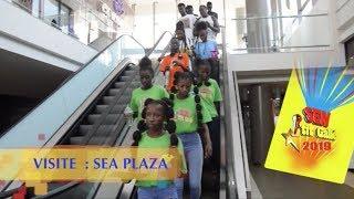 SEN PETIT GALLE  2019 VISITE : LES ENFANTS AU SEA PLAZA - MATERNITA ET AU LIBRAIRIE LPD