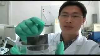 CARBON AEROGEL Lightest Material in the World !!!