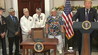 Trump signs Pearl Harbor Day proclamation
