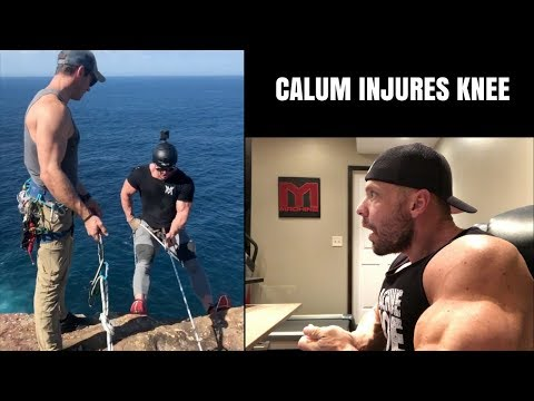 Calum Von Moger Injures Knee and Why You Should Respect That