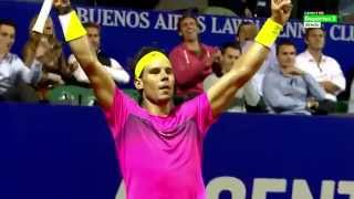 Rafael Nadal - Top 10 unreal slice passing shots