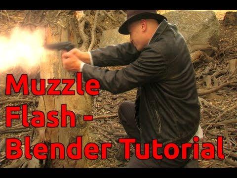 Muzzle Flash - Blender Tutorial