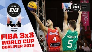 Re-Live - FIBA 3x3 World Cup 2019 - Qualifier - Puerto Rico - Day 1