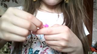 уроки плетения на резинках №1