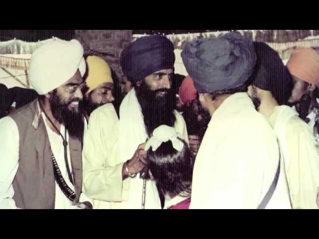 Attack on Sri Akal Takhat Sahib in June 1984, eyewitness Singh Sahib Giani Puran Singh Ji Travel Video