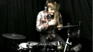 joey wojcik demi lovato give your heart a break drum cover