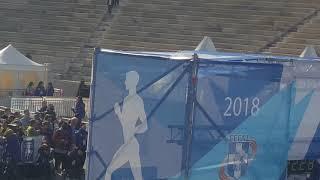 36ος Αυθεντικός Μαραθώνιος Αθηνών Τερματισμός1ος Έλληνας Κ. Γελαούζος. Authentic marathon athens