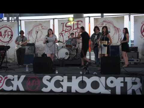 Gimme Shelter covered by Ashburn School of Rock House Band