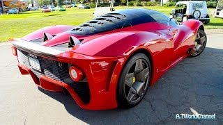 $4M 1 of 1 Ferrari P4/5 Engine Sound & Driving on the Road!