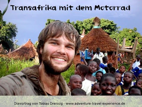 ㋡  Ultra low cost budget adventure trip riding around Africa