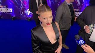 Скарлетт Йоханссон на премьере фильма «Мстители: Финал»