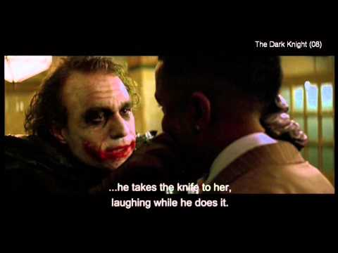 """The Dark Knight (clip7)- """"why so serious?"""""""