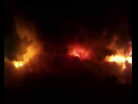 пожар в посёлке вал сахалинская область