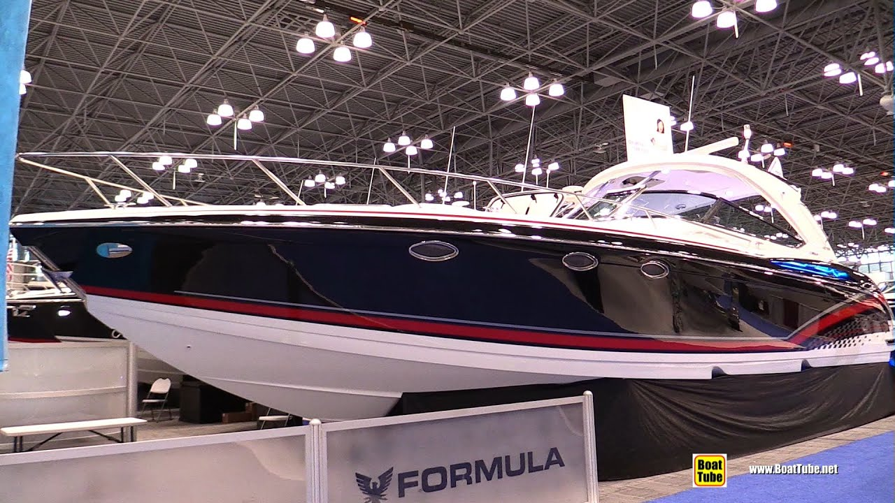 2015 Formula 400 FX Motor Yacht Walkaround 2015 New York Boat Show YouTube