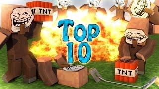 Minecraft Trolling | Modded Top 10 Trolling Mods - Trolling & Prank Mods! (Trolling)