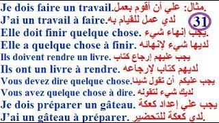 تعلم اللغة الفرنسية بسهولة وسرعة للمستوى المتوسط :  تعلم اللغة الفرنسية  - تحدي التكلم بالفرنسية