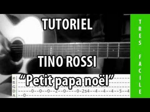Tutoriel Guitare Petit Papa Noël Tino Rossi Youtube