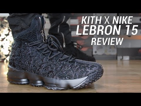 official photos 81e90 79f40 KITH X LEBRON 15 PERFORMANCE SUIT OF ARMOR - YouTube