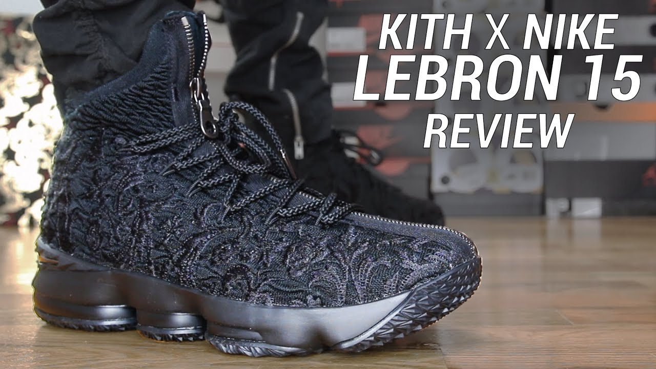 54b078c7cd3a KITH X LEBRON 15 PERFORMANCE SUIT OF ARMOR - YouTube
