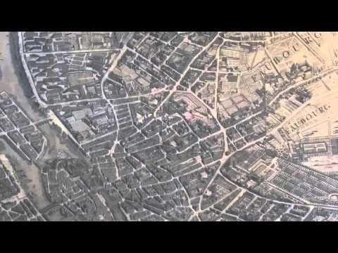 Plan Turgot - Comparaison 1739/Aujourd