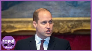 The Duke of Cambridge Urges Help to End 'Abhorrent' Illegal Wildlife Trade