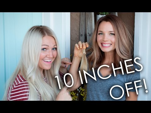 WE CUT 10 INCHES!! | Tuesday Tutorial