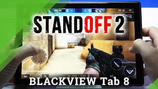 Standoff 2 on BLACKVIEW Tab 8 - Game Test