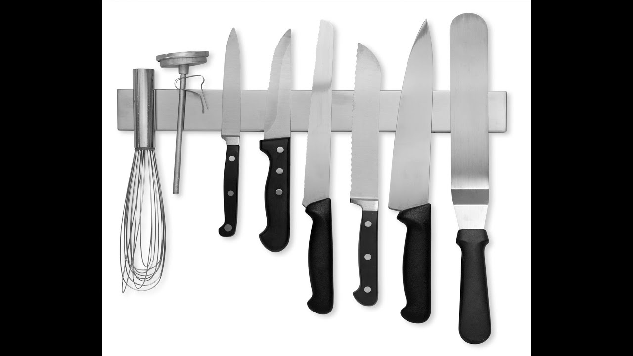 review modern innovations 16 inch stainless steel magnetic knife review modern innovations 16 inch stainless steel magnetic knife bar with multi purpose youtube