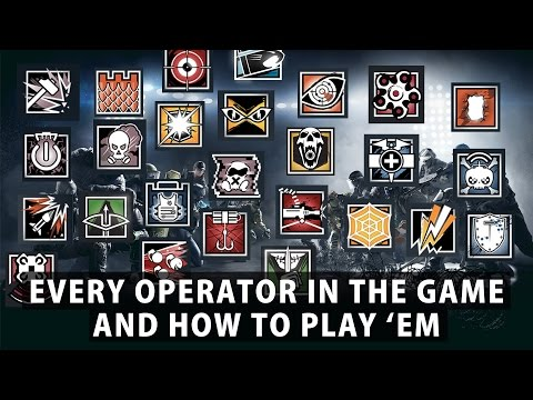 Thumbnail: Rainbow Six Siege - How to Play Every Operator in The Game
