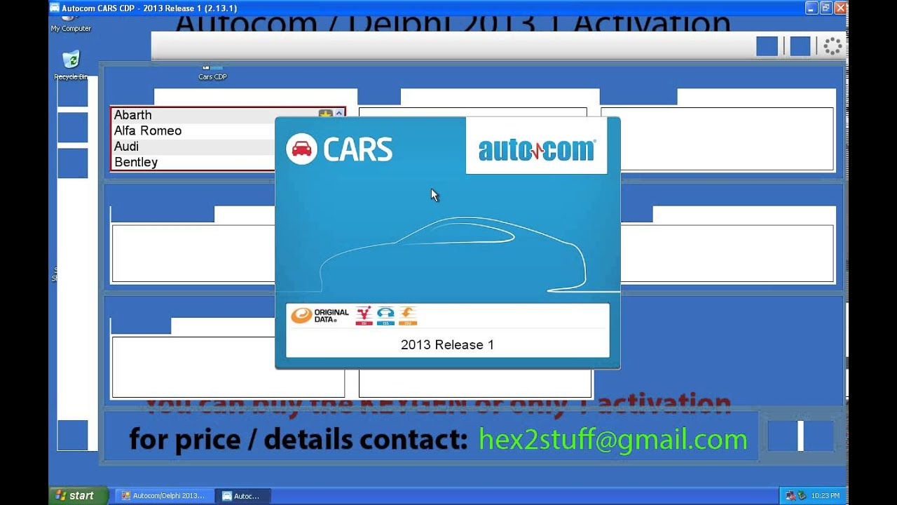 Autocom delphi 2013 1 keygen activation release 1 2013 cdp ds150e cdp cars trucks vci youtube