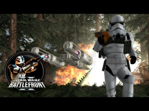 Star Wars Battlefront II Mods (PC) HD: Sky to Ground Map Pack 3 - Battle of Endor
