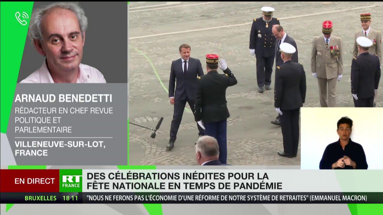 Cérémonie du 14 Juillet : l'analyse d'Arnaud Benedetti
