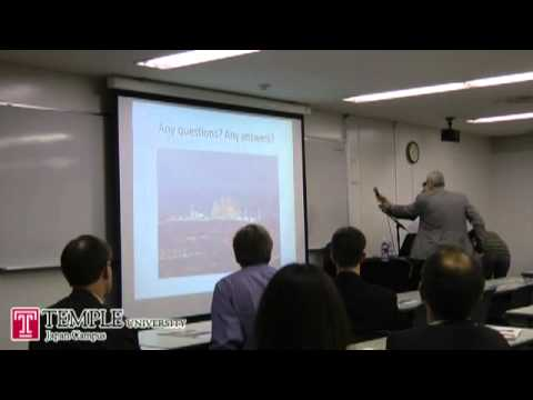Public Lecture Video (4.11.2012) : Japanese nuclear policy - Institutional obstacles to change