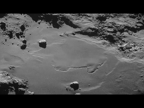 After 10 years of waiting, the European Space Agency landed on a comet human research into Universe