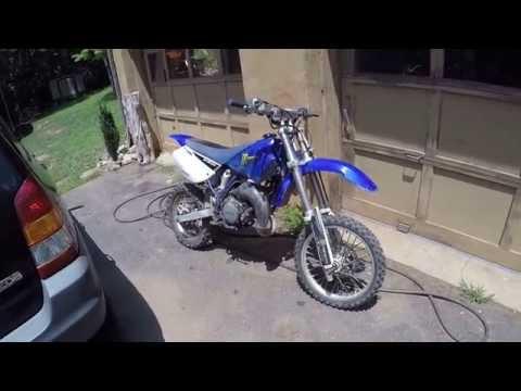 riding the yamaha yz 85