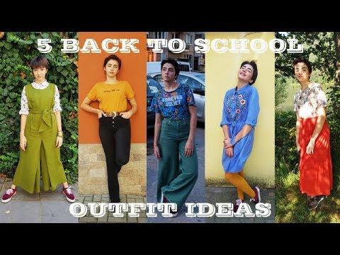 [VIDEO] - 5 Back To School Outfit Ideas | Sen Sen Bg 1