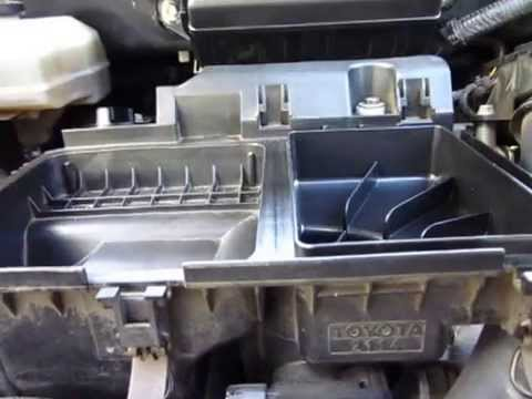 Toyota Prius 2004 2009 Throttle Plate Cleaning And Air