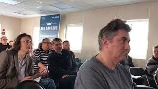 Сергей Переслегин и Михаил Бейлин представили концепцию развития парка Северного речного вокзала