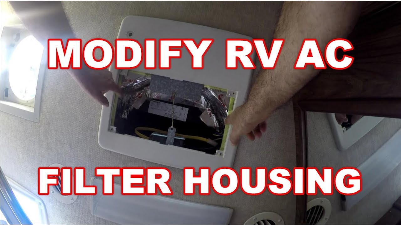 How To Modify Rv Ac Air Filter Housing Prevent Dust From Getting National Fuel