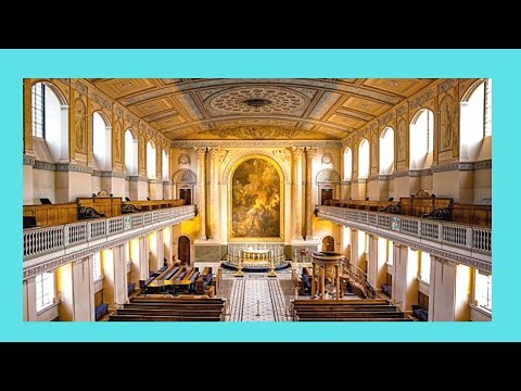The historic Chapel of the Royal Naval College, Greenwich (England)