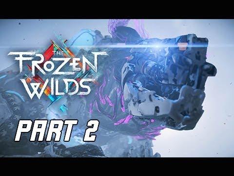 Horizon Zero Dawn The Frozen Wilds Gameplay Walkthrough Part 2 - FrostClaw (PS4 Pro DLC)