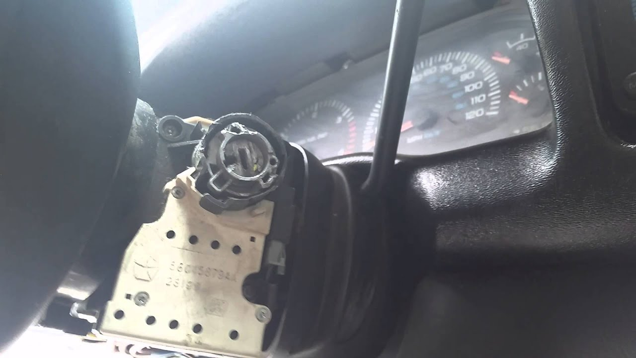 How to Remove & Install An Ignition Switch 1994 to 20012002 Dodge Ram  YouTube