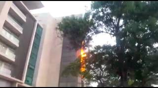 Fire guts section of new ADB office @ Accra Financial Centre